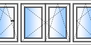 fenêtre 4 vantaux