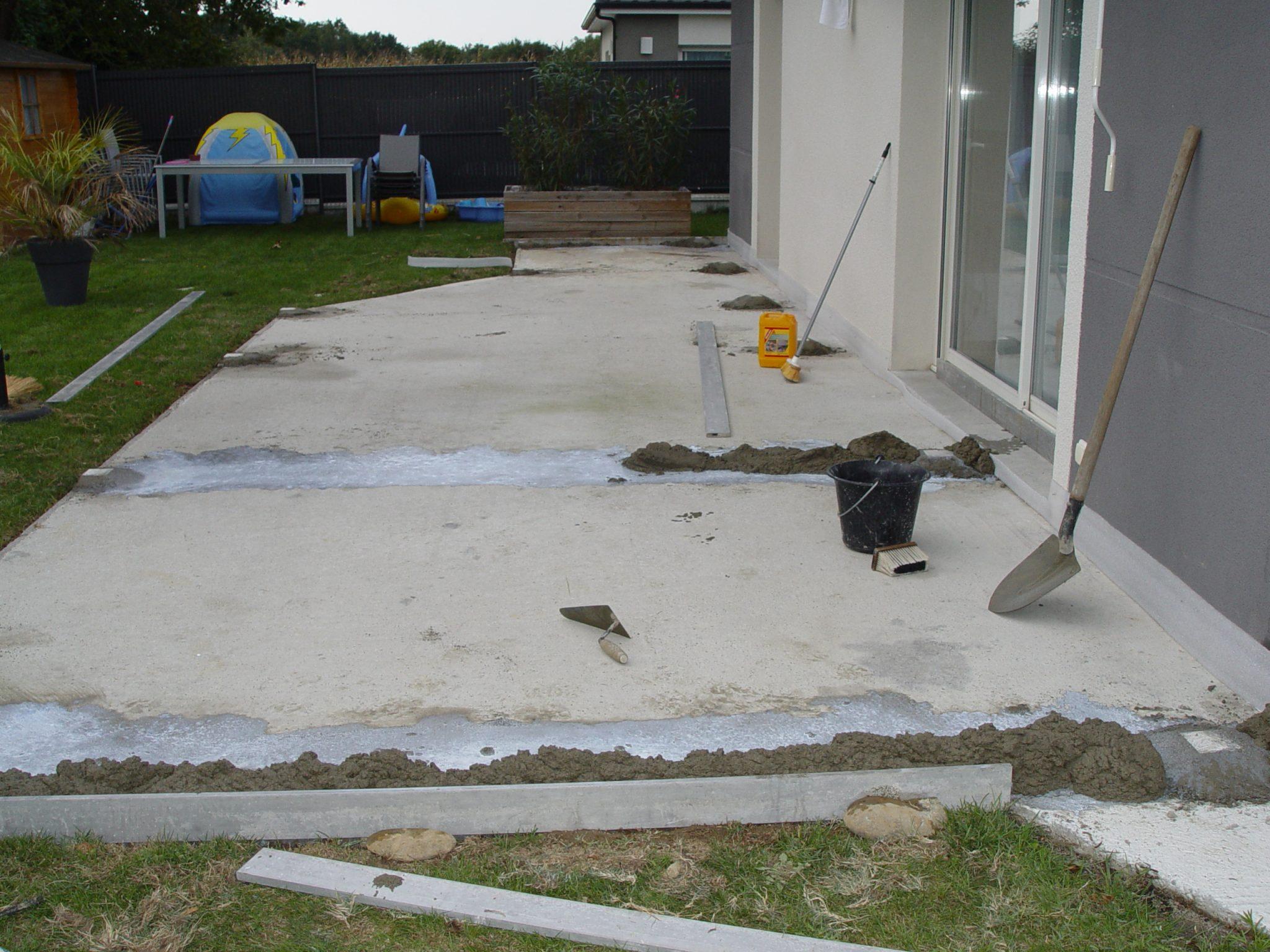 Comment Fabriquer Une Terrasse En Beton comment réaliser une terrasse - découvrez nos conseils et