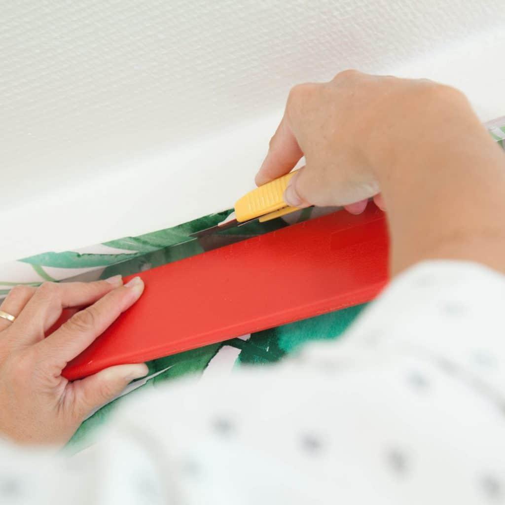 comment bien araser son papier peint conseils et astuces. Black Bedroom Furniture Sets. Home Design Ideas