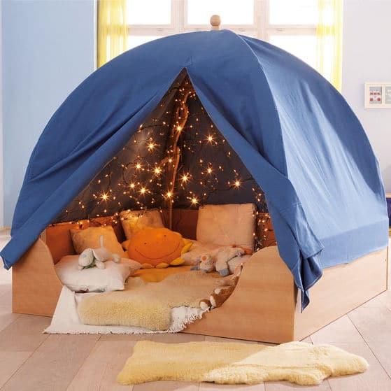 comment fabriquer une cabane d 39 interieur. Black Bedroom Furniture Sets. Home Design Ideas