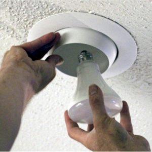 Comment changer une ampoule sans danger