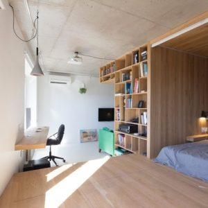 Aménager deux espaces dans un studio