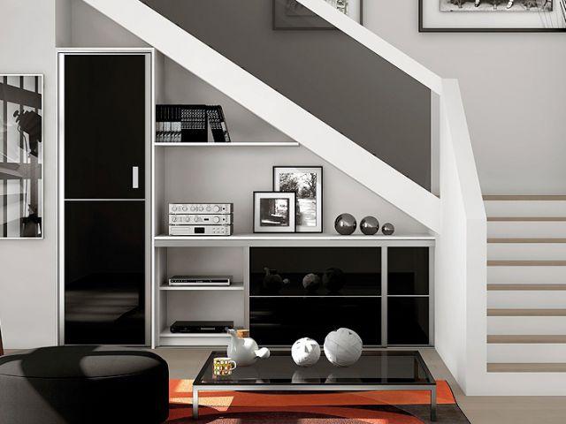 Aménager le dessous des escaliers