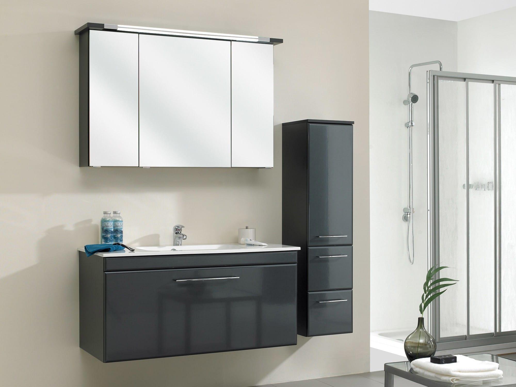Armoire De Toilette Miroir Le Meuble De La Salle De Bain