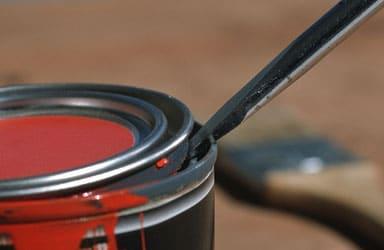 comment ouvrir un pot de peinture