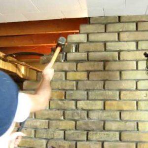 Comment abattre une cloison de briques