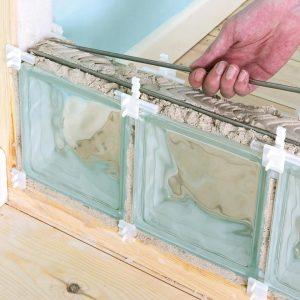 Comment poser un mur en brique de verre