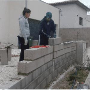 Coaching monter un mur en agglos