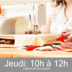 Cours de couture en visio