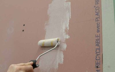 Comment peindre un mur : les sous-couches