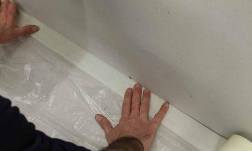 Comment peindre un mur : la protection