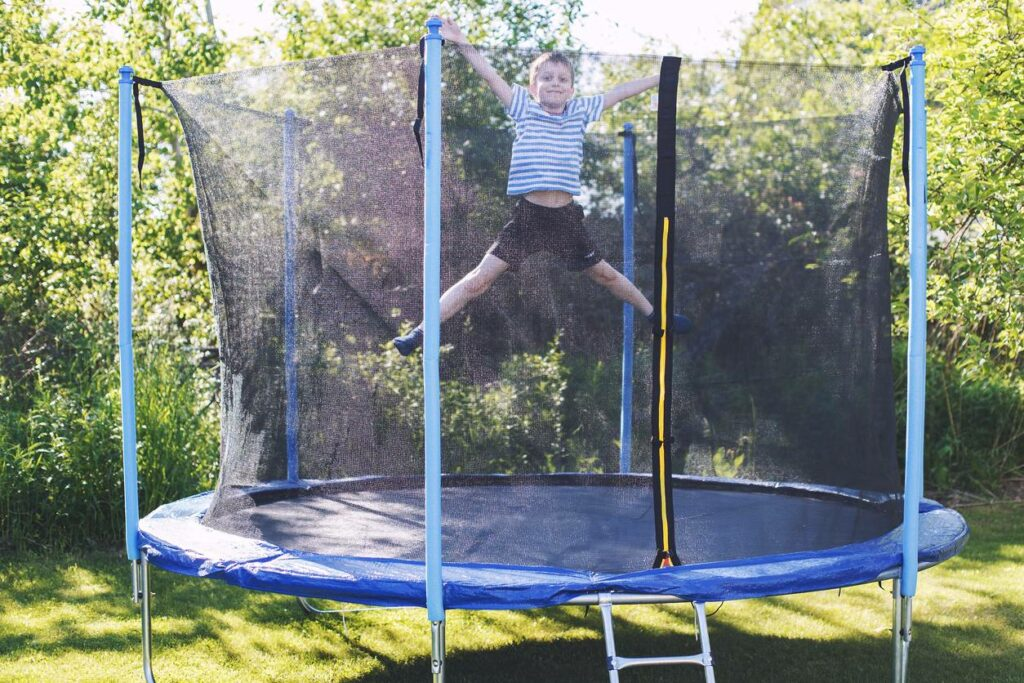 monter soi-même trampoline